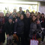 Carol singing at Wellfield Road Winter Festival 2014