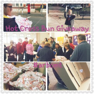 Hot Cross Bun Give Away 2015 #ARBCMT